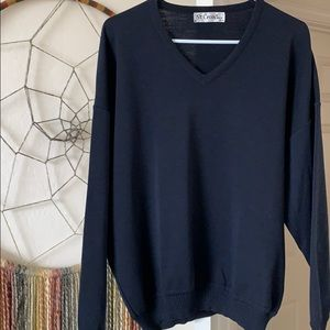 Other - Mens St. Croix 100% wool V neck sweater